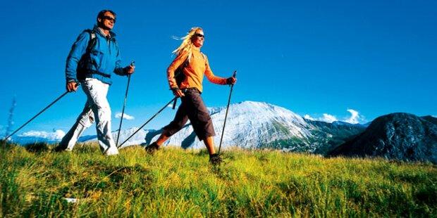 Wanderwetter lockt jetzt in die Berge