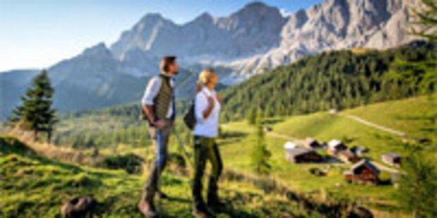 Rekord für Urlaub in Österreich