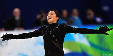 Wang freute sich über Gold von Evan Lysacek