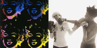 """""""Warhol/Basquiat"""": Künstlerkonfrontation im Kunstforum Wien"""