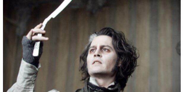 Johnny Depp als Killer-Barbier