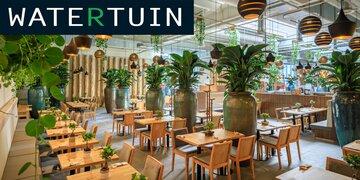 Gewinnen Sie JETZT täglich!  : Ein Essen für 2 im Watertuin Wien!