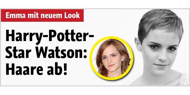 Emma Watson überrascht mit Kurzhaar-Cut