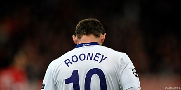 Englands Stürmerstar Wayne Rooney erneut verletzt