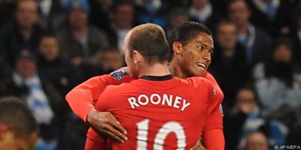 Manchester United mit Kantersieg an Tabellenspitze