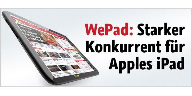 WePad - genialer iPad-Gegner mit Android