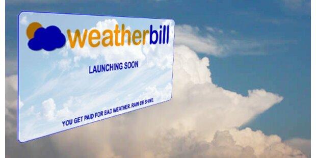 Versicherung gegen schlechtes Wetter