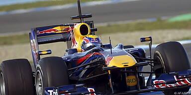 Webber mit starker Performance