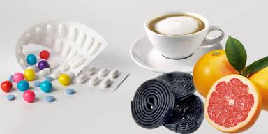 Wechselwirkung Medikamente und Essen