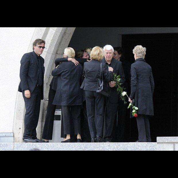 Christiane Hörbiger Beerdigung