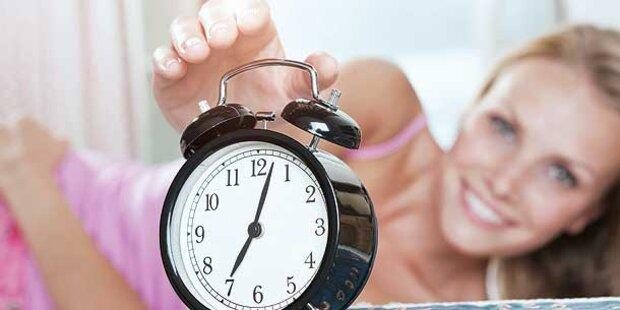 Eine Stunde weniger Schlaf!