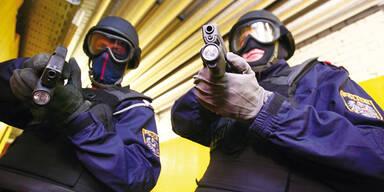 Nach Fahndung: WEGA verhaftet bewaffneten Räuber
