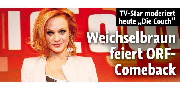 Weichselbraun feiert ORF-Comeback