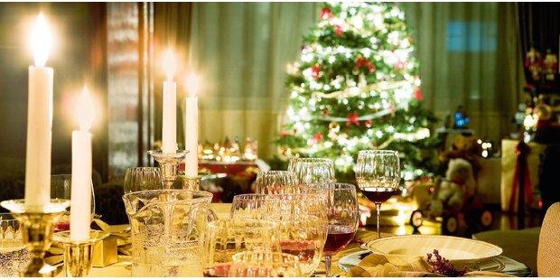 3 Menüs für Ihr Weihnachtsfest
