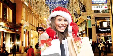 Weihnachtseinkäufe nach dem Lockdown