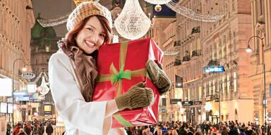 Countdown für Geschenke-Kauf
