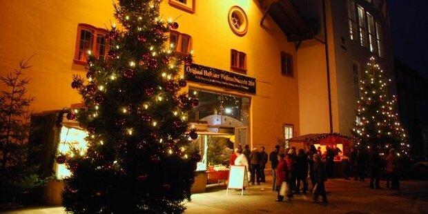 Weihnachtsstimmung im zauberhaften Hallein