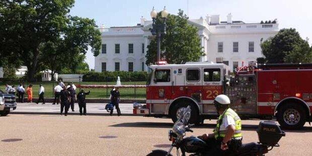 Weißes Haus evakuiert