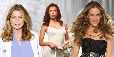 Welcher Serienstar sind Sie? Carrie, Gaby oder Meredith
