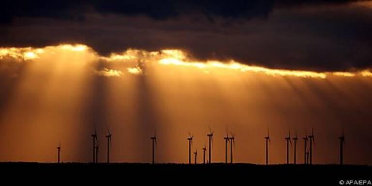 Weltweit immer mehr Windräder