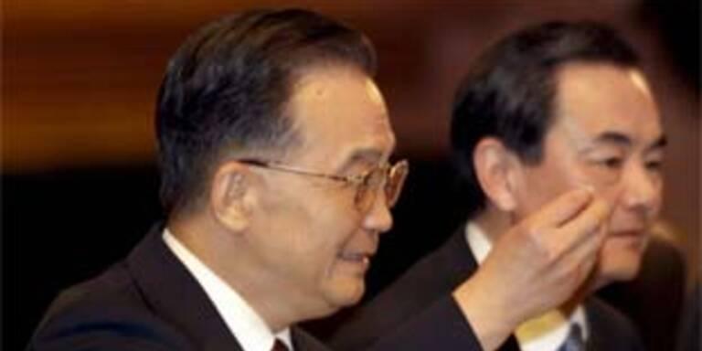 Chinas Führung hat alles uner Kontrolle: Premier Wen Jiabao
