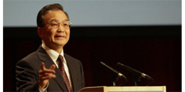 Chinas Medien verschweigen Schuhwurf auf Premier