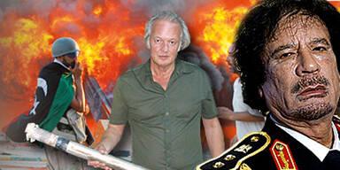Mit den Rebellen auf Gaddafi-Jagd