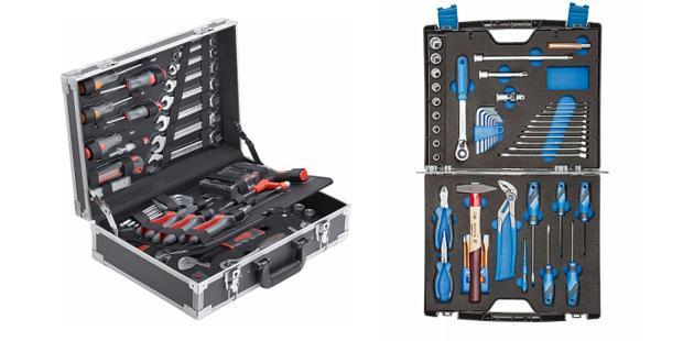 Werkzeugkoffer - Vergleich