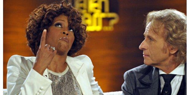 Whitney Houston wirkte wie unter Drogen