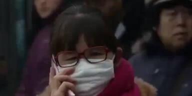 Smogalarm in China