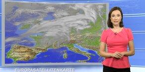 Das Wetter heute: Sonnig, von Westen gewittrig