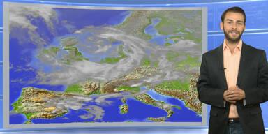Das Wetter heute: Weitgehend sonnig, vereinzelt Gewitter möglich