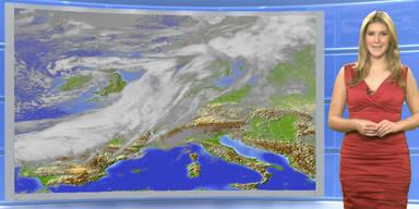 Das Wetter heute: Strahlend sonnig, teils kräftiger Südföhn