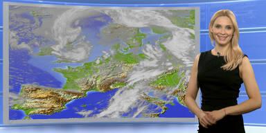 Das Wetter heute: Zunächst sonnig, ab Mittag Gewitter