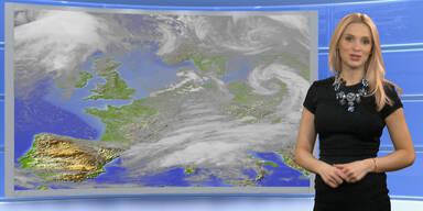 Das Wetter heute: Sonnig, im Osten vereinzelt Schauer