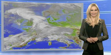 Das Wetter heute: Es wird wärmer, teils Regenschauer
