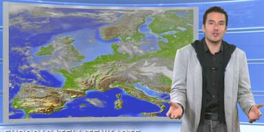 Das Wetter heute: Wetterberuhigung, im Westen freundlich