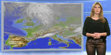 Das Wetter heute: Oft Regen