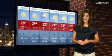 Wetter-Prognose: Strahlender Sonnenschein
