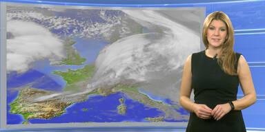 Das Wetter heute: Teils Sonne, alpennordseitig Sturm