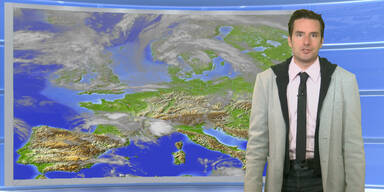 Das Wetter heute: Unbeständig, vereinzelt Gewitter