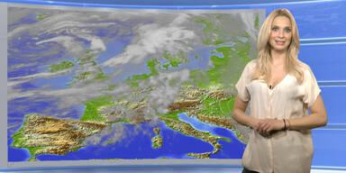 Das Wetter heute: erste Schauer, tagsüber wechselhaft