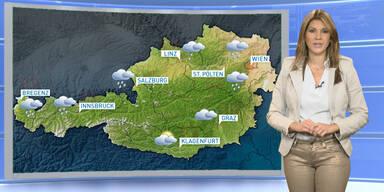 Das Wetterupdate: Überwiegend sonnig, von Westen her Regen