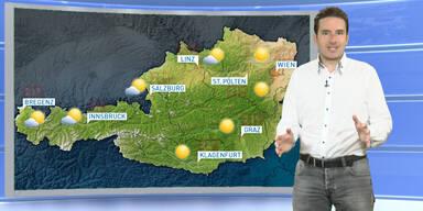 Das Wetterupdate: Schauer und Gewitter, im Südosten länger Sonne