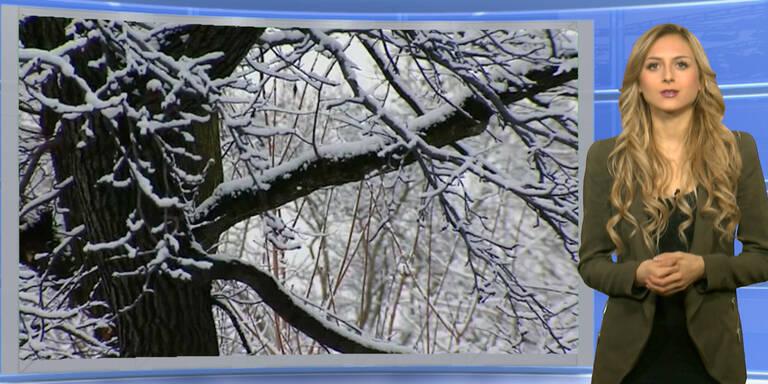 Das Wetterupdate: Alpennordseitig Schnee, im Süden sonnig