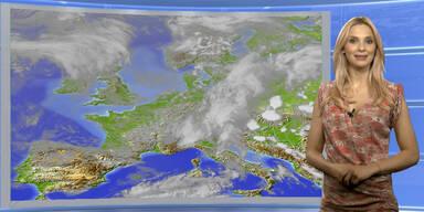 Das Wetter heute: Verbreitet Regen