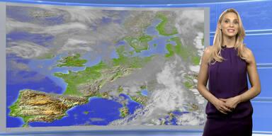 Das Wetter heute: regnerisch, im O ergiebig