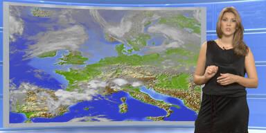 Das Wetter heute: Verbreitet Regenschauer