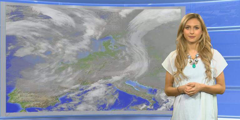 Das Wetter heute: Restwolken, dann recht sonnig