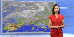 Das Wetter heute: Im O sonnig, im W gewittrig